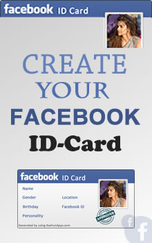 Create Your Facebook ID Card Now - FB Fun App