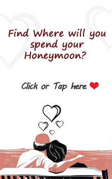 Find Where Will You Spend Your Honeymoon - FB Fun App